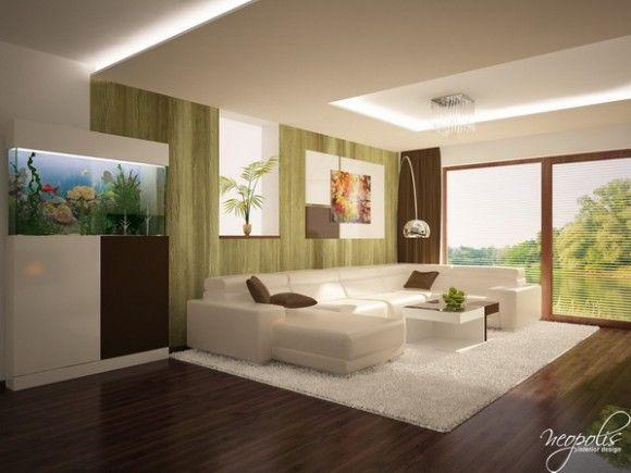 Luminosas y acogedoras salas de estar modernas para la for Disenos de salas modernas