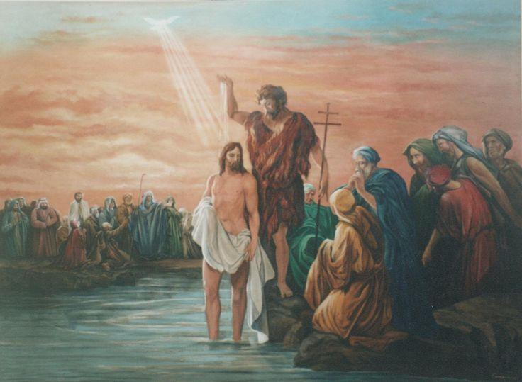Buenos días hermanas y hermanos en Cristo, hoy estamos celebrando con gozo y alegría la Fiesta del #BaustismoDelSenor. #ArqTl  http://www.corazones.org/jesus/bautismo_jesus.htm