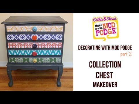 decoupage furniture ideas. decorating with mod podge how to decoupage furniture ideas