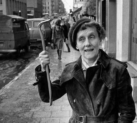 "Swedish author, Astrid Lindgren - the mother of Pippi Longstocking, Six Bullerby Children and Emil from ""Emil's Pranks."""