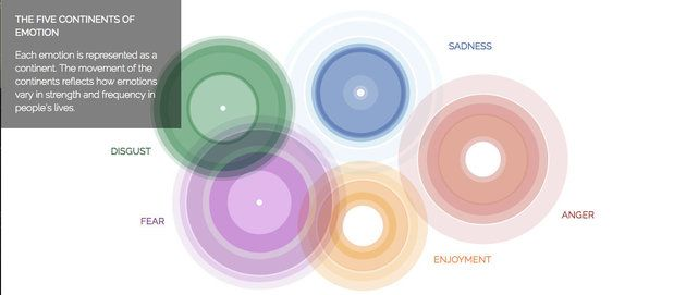 Can This Interactive Map Of Emotions Bring World Peace? The Dalai Lama Thinks So
