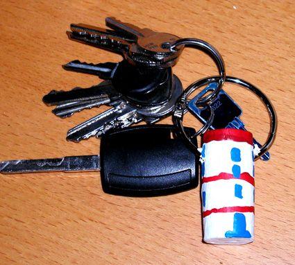 Fabriquer un porte-clés bouchon