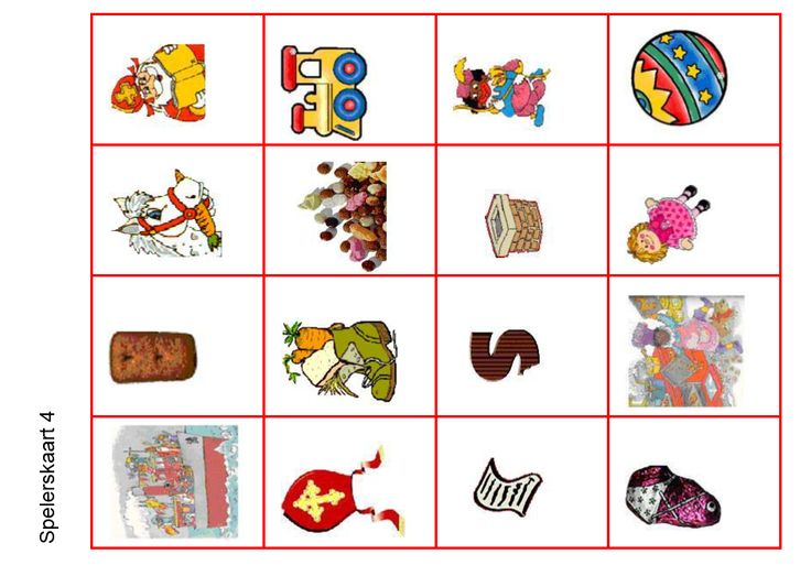 Bingo - spelerskaart4