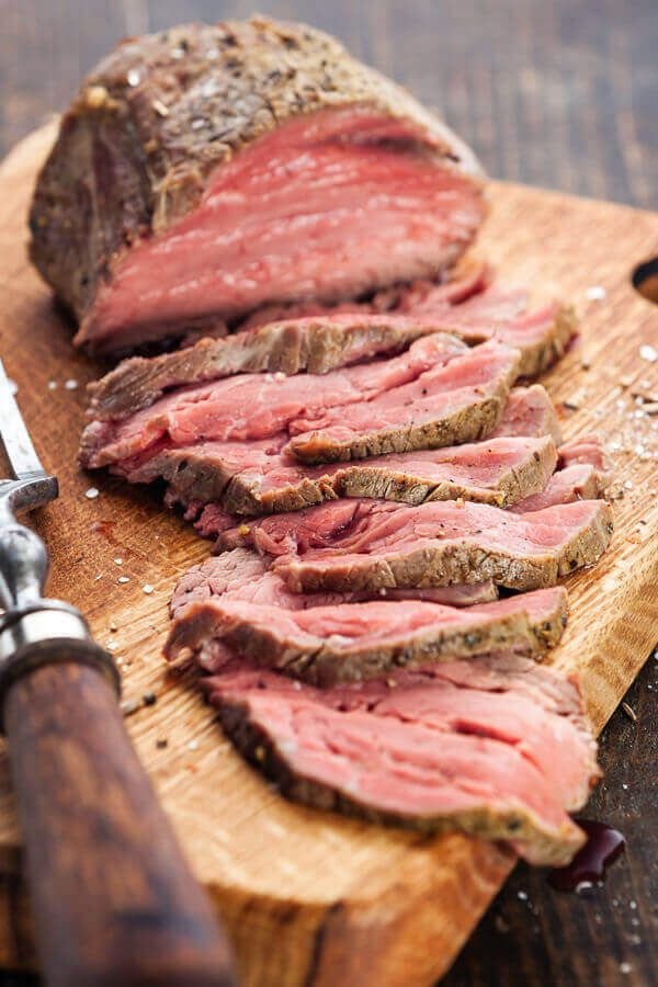 Slow Cooker Mock Prime Rib This Rump Roast Makes A Great Cheap Alternative To Prime Rib A Bit Of Italian Rump Roast Recipes Roast Beef Recipes Beef Recipes
