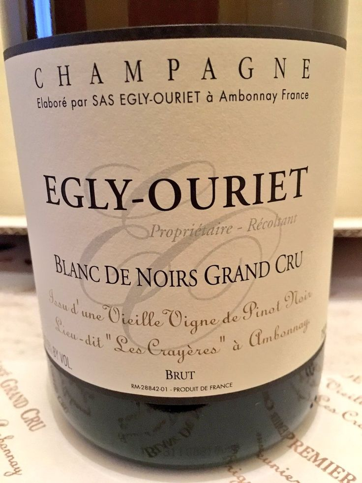 This is magic! deeply impressed by the wines from égly-ouriet! les crayères is simply superb #champagne