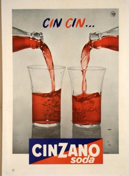 Cin Cin Cinzano soda via @MurrMarie