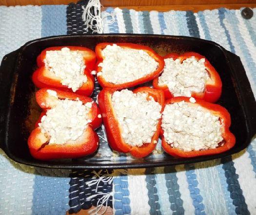 Tonhalas sajtkrémmel töltött kaliforniai paprika Recept képpel - Mindmegette.hu - Receptek