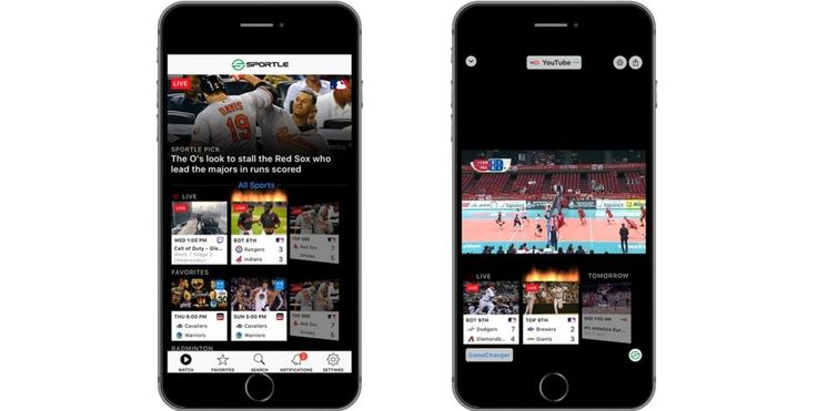 Sportle Is a One-Stop Shop for Live Sports Streams