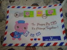 マカオはブタの郵便屋さん? A4サイズがしっかり入るエアメール・デザインのケース|「Airmailを巡る旅」 エアメール封筒好きのAirmail-maniaのブログ