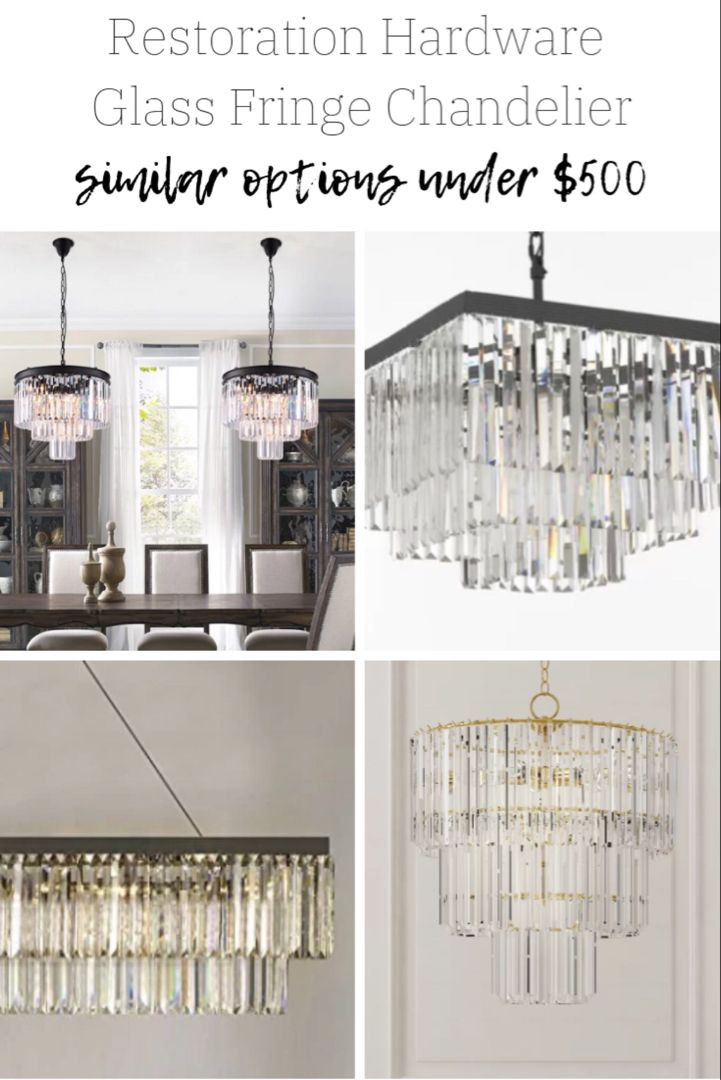 Want The Restoration Hardware Look Without The Rh Piece We