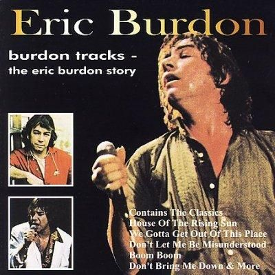BURDON TRACKS features re-recorded versions by Eric Burdon of songs written by and associated with him. Personnel includes: Eric Burdon (vocals); Snuffy Walden (guitar). Includes liner notes by Peter