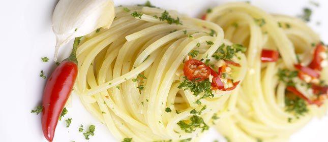 Pasta al aglio e olio | Cocina y Vino