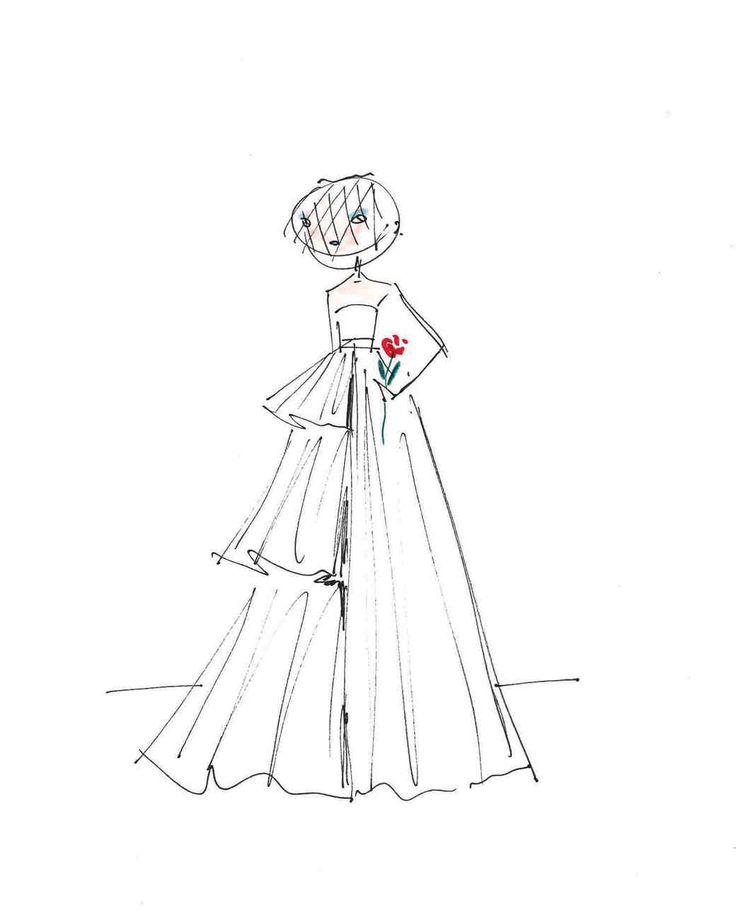 2424 best Designer Sketches images on Pinterest