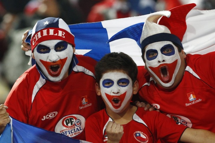 Postales del triunfo de Chile ante Bolivia, el 11/06/2013