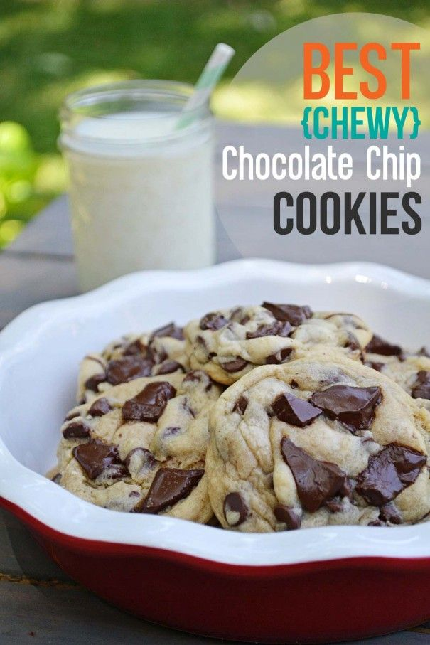 These are hands down the best chocolate chip cookies I have ever made. My new go to recipe!