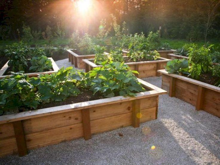 49 beautiful diy raised garden beds ideas - Raised Bed Vegetable Garden Design