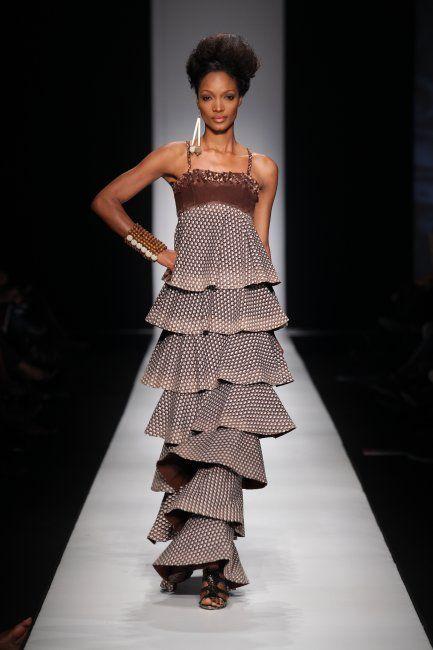 Bongiwe Walaza african fashion #AfricaFashion #AfricanPrints