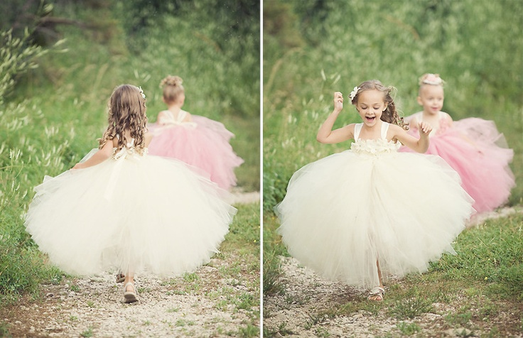 I'm thinking this is going to be necessary for my girls...and for me. Who doesn't love super fluffy dresses and taking pictures of little girls playing in them???