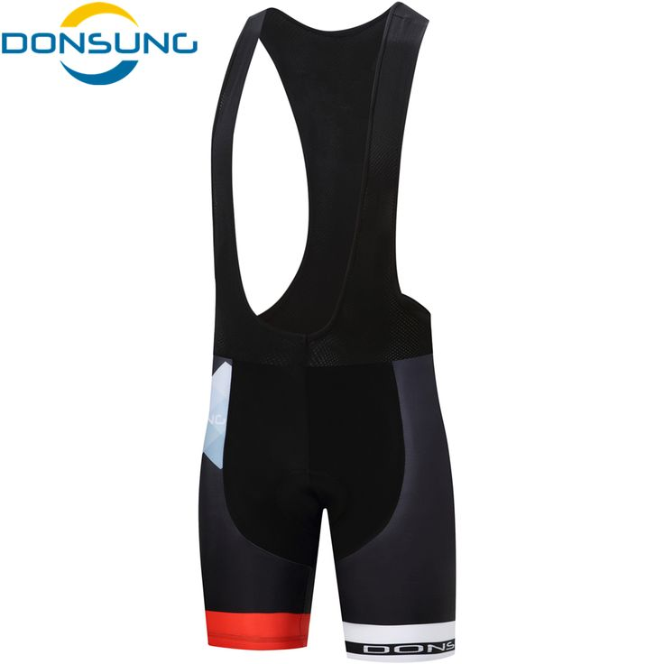 DONSUNG Cycling Bib Shorts Men 3D Gel Padded Pro MTB Mountain Road Bike Bicycle Outdoor Riding Breathable Cycling Clothing