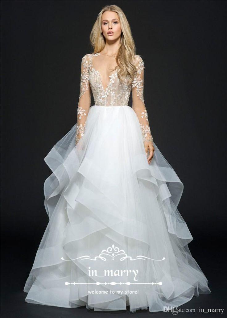 Discount hayley paige wedding dresses-6278