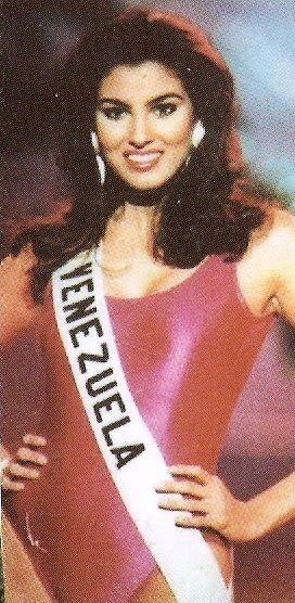 Denyse Floreano Miss Venezuela 1994 Represento a  Venezuela en Miss Universo 1995 clasificó de Sexta finalista