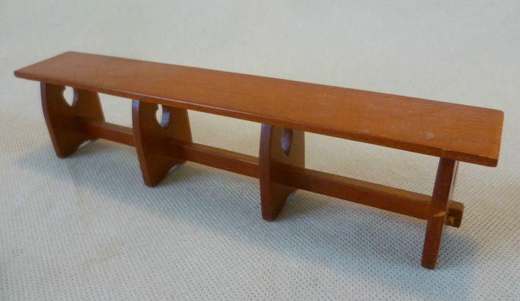 Dolls House Emporium Charles Rennie Mackintosh Kitchen Table Bench 3419 #2-Rare | eBay