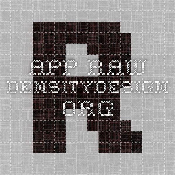 app.raw.densitydesign.org