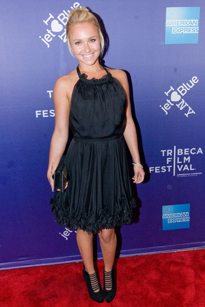 Hayden Panettiere and her huge boyfriend at Tribeca Film Festival