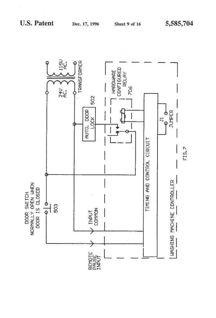 17 Innovative Circuit Diagram Ideas Bacamajalah Washing Machine Motor Washing Machine Circuit Diagram