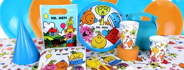 Mr Men Party Supplies