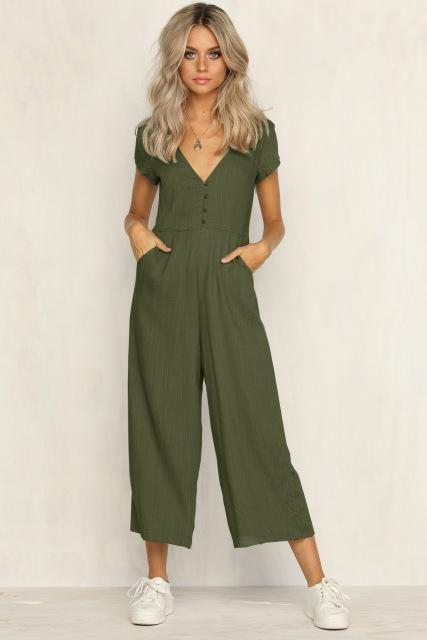 Sexy Women Jumpsuit Romper Sleeveless Playsuit Clubwear Trousers Bodycon Pants