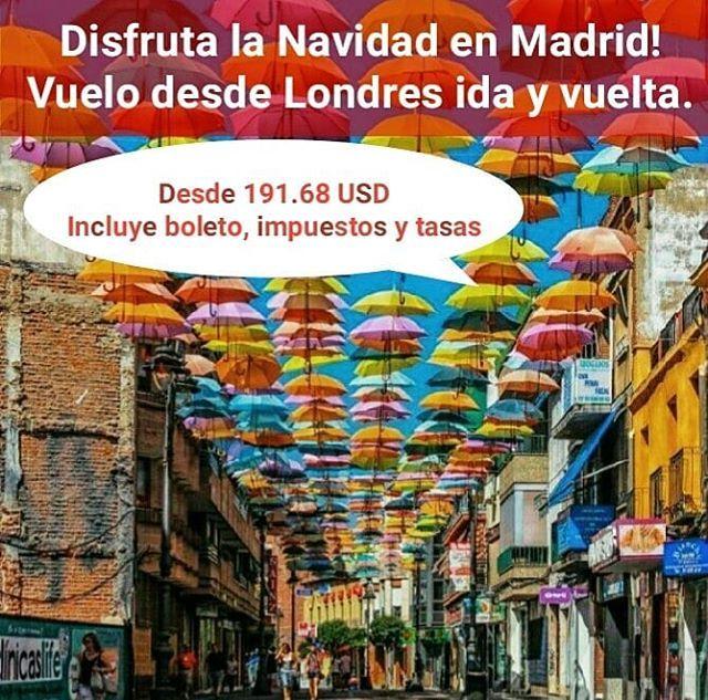 Viajar A Madrid Saliendo De Londres Reunirse Con La Familia Y Amigos Para Navidad Tiempo Para Renovar Afectos Y Unión Relax Travel Tiene Para Ustedes Playbill