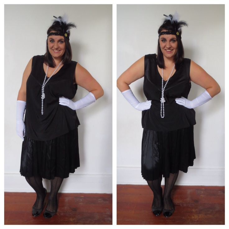 PLUS SIZE COSTUMES: DIY Flapper Girl Costumes — Cat Inspired