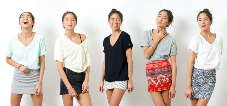 ckkn x roial 2014 Spring New Collaboration!! Women's Top 5 Colours choice,  V-Neck with deep slit on left side. http://ckkn.jp/ckkn-x-roial-2014-spring-2/