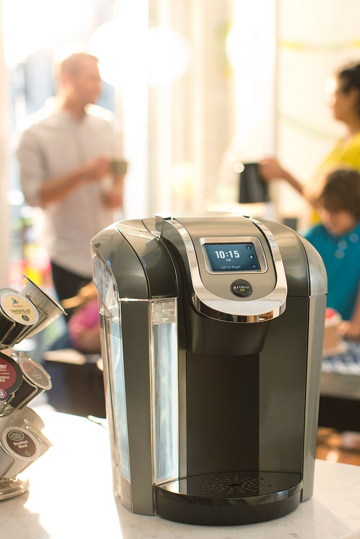 The new Keurig 2.0 is great for brewing cups of coffee for the entire family! In addition to single sizes, the new carafe option serves up to 4 people at once. It also comes with a bunch of new settings for brewing drinks like hot cocoa, chais, and mochas. It's the perfect holiday gift! Available now at Walmart.
