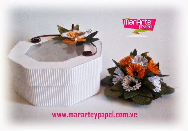 Tarjeta-Recuerdo de Fantasía de Flores Silvestres Blancas y Amarillas http://www.mararteypapel.com.ve/2014/01/tarjeta-recuerdo-de-fantasia-de-flores_21.html