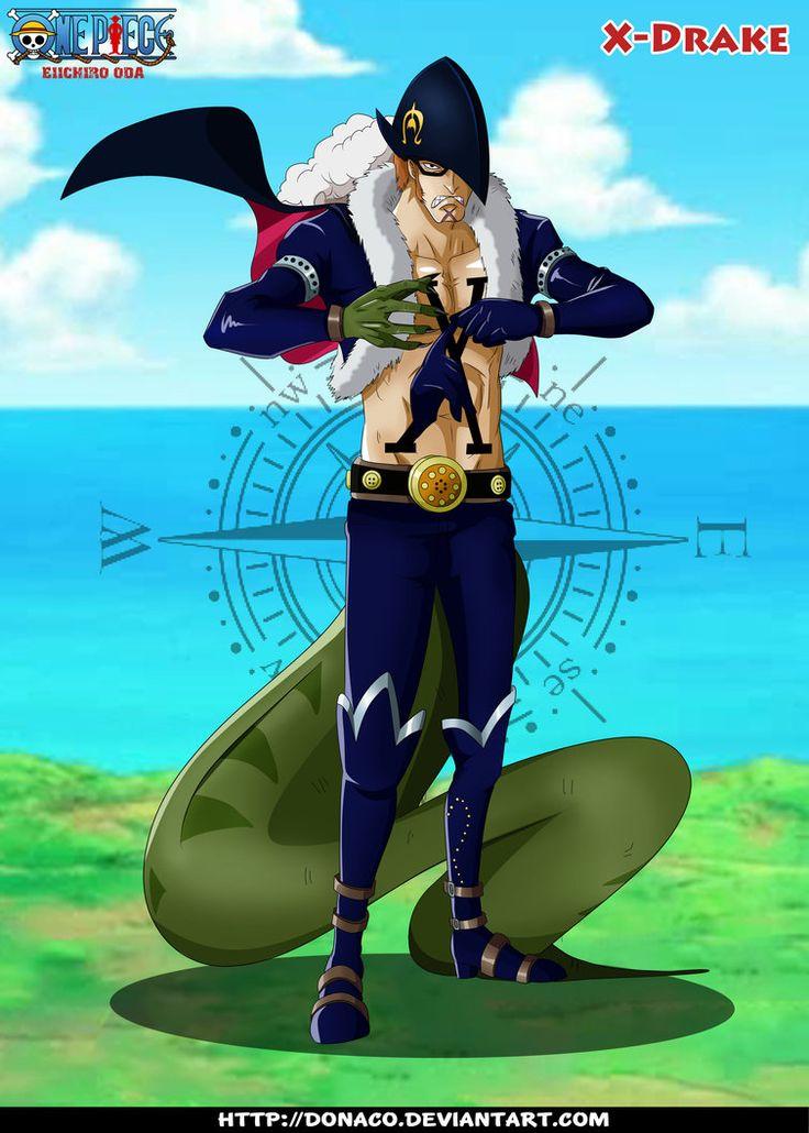X-Drake   One Piece Character(Anime)   Pinterest   Art ...