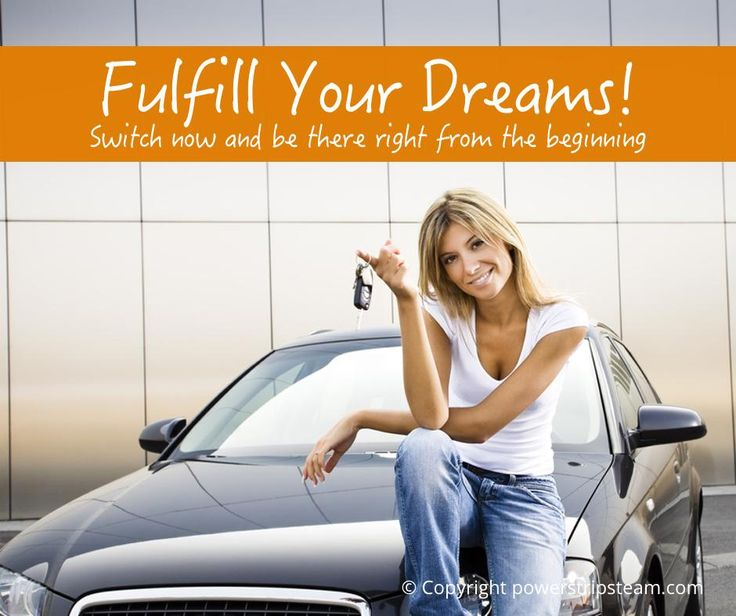 Fulfill your dreams: http://bit.ly/1bQmhdT
