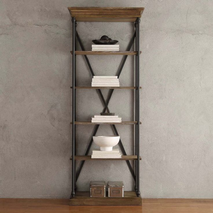 Best 置物架 Images On Pinterest Bookcases Book Shelves And - Wide bookshelves