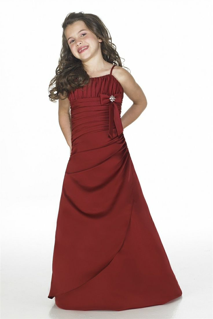 32 best junior bridesmaid dresses images on pinterest junior a line spaghttti natural waistline junior bridesmaid dress dressfame ombrellifo Image collections