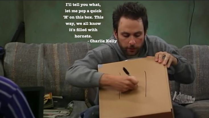 Charlie kelly .
