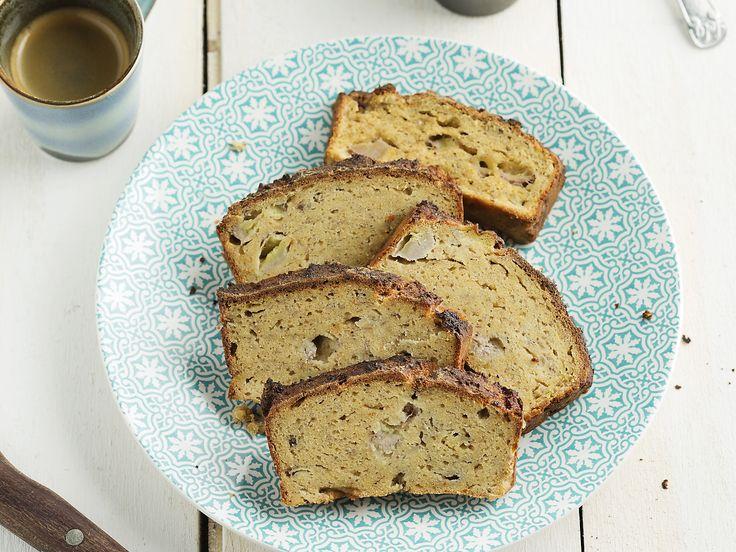 Bananen-cakebrood met sojameel