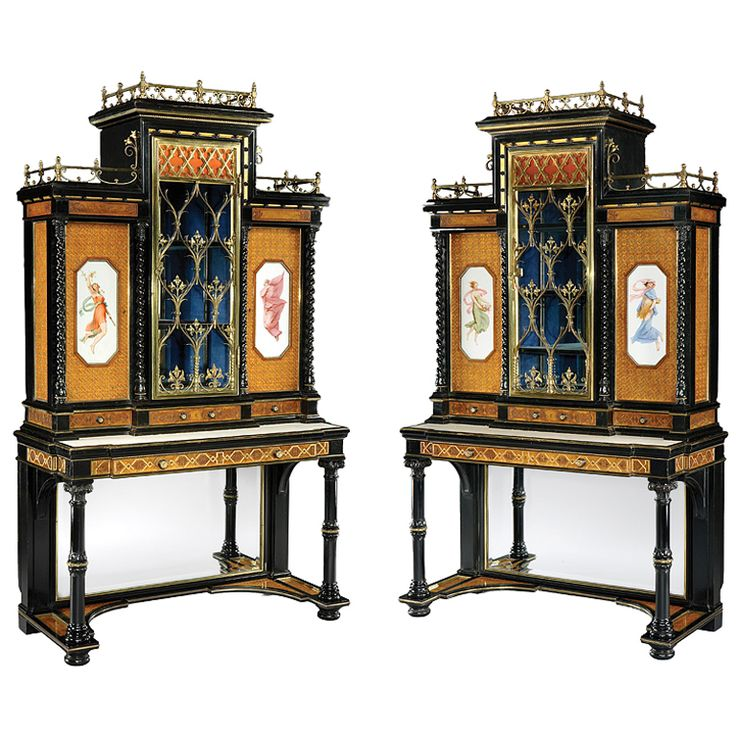 1stdibs - A Pair of Antique Display Cabinets, attributable to Gillows of  Lancaster explore items - Best 25+ Antique Display Cabinets Ideas On Pinterest White