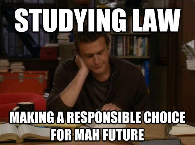 For those who went to law school, do you have any advice for a prospective student?
