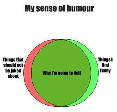 my sense of humor