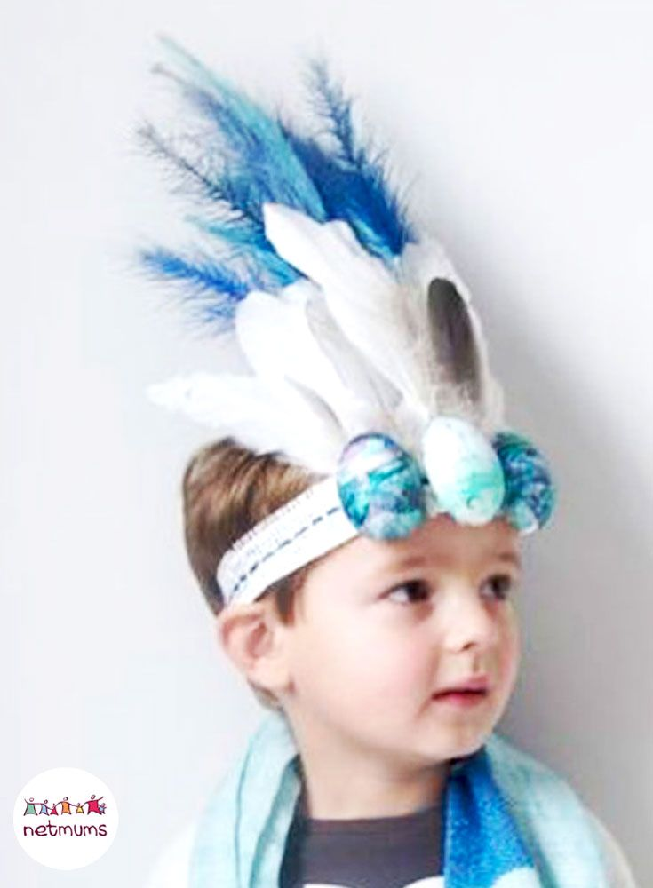 A simple decorated headband looks just as great as a typical bonnet. Struggling for Easter bonnet ideas for boys? We've got loads of brilliant bonnet ideas for you to make, featuring everything from dinosaurs to Batman.