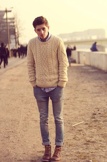 Cool Jumper, in this winter. #fashion