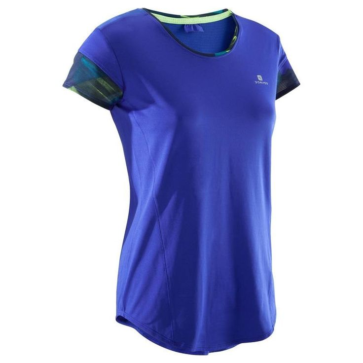 38 - Fitness Fitness - Energy + Fitness T-Shirt DOMYOS - Women Gym and Yoga Clothes
