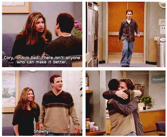 """19 Reasons Cory And Shawn Were The Most Important Couple On """"Boy Meets World"""" - BuzzFeed"""