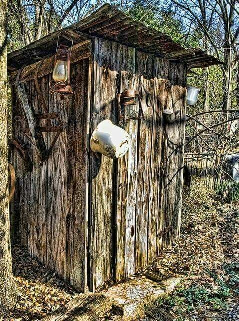 Outhouse (old Johnny)